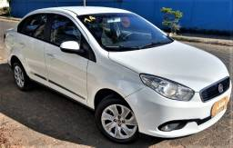 Título do anúncio: Grand Siena 1.4 Branco Sedan + Econômico do Brasil