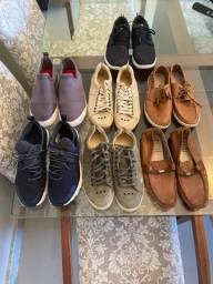 Sapatos de diversas marcas todos originais