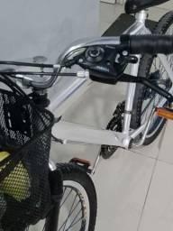 Título do anúncio: Bicicleta de alumínio, raios de inox, cubo de rolamento,aro 26