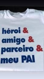 Camisas Personalizadas 100% Algodão