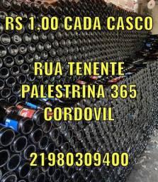 R$1 CADA CASCO DE CRACUDINHA AMBEV