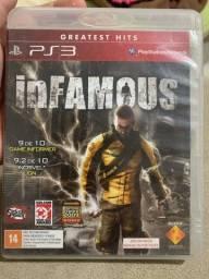 Infamous - PS3 mídia cd