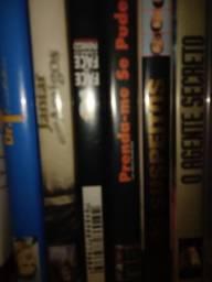 DVDs originais à venda. Desconto para levar tudo.