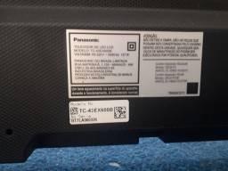 """Smart tv led 43""""panasonic 4k"""