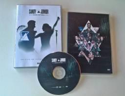 DVD Sandy e Junior - Nossa História (Último Show) DVD Fan Made