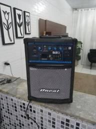 Caixa Acústica Multiuso Ativa Oneal OCM-260 6 Polegadas 40 Watts