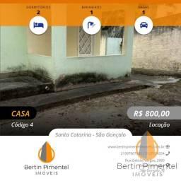 Título do anúncio: São Gonçalo - Casa Padrão - Santa Catarina