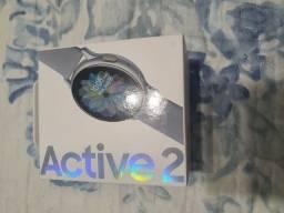 Smartwatch Galaxy active 2 cinza - Na caixa, lacrado.