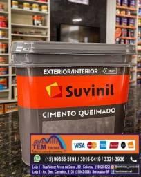 __.Chegou Cimento Queimado em nossas Lojas. Para usar dentro e fora de casa!
