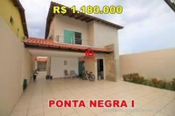 Título do anúncio: Casa Duplex Res. Ponta Negra - 197 M² - 3 Suites - Aceita Financiamento Bancário