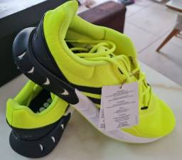 Adidas Kaptir Super Boost - Preto Amarelo - Lindo - Promoção