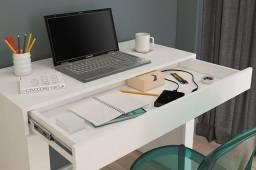 Título do anúncio: Título: Escrivaninha Mesa Computador Home Office Branco