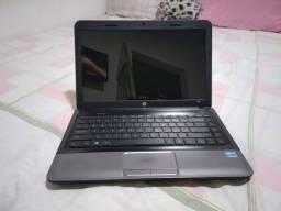 Notebook HP core i3 3geração HD 500 RAM 4GB teclado bom com carregador