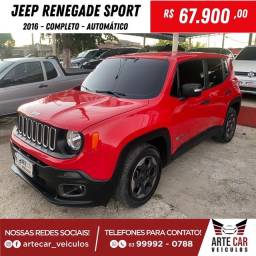 Jeep renegade sport 2016 automático !!