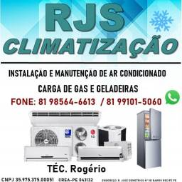 RJS Climatização Instalação e Manutenção De Ar Condicionado