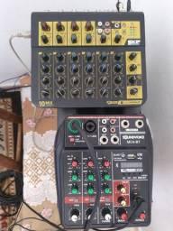 SKP mesa e interface de audio
