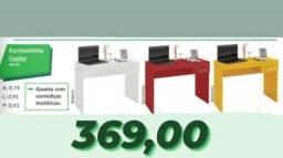 escrivaninha p/ escritório várias cores - entrega grátis