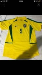 Camisa retrô Ronaldo 2002