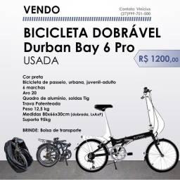 Bicicleta dobrável Durban Bay 6 Pro (usada)