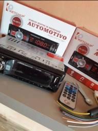 Som Automotivo  Com Usb, Bluetooth E Leitor Sd viva voz