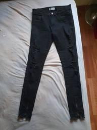 Título do anúncio: Calça jeans Zstore preta