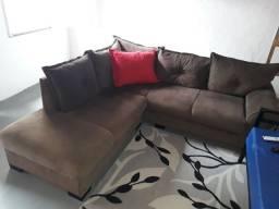 Sofá confortável em L