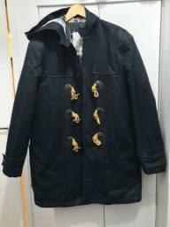 Casaco Zara Man estilo Sobretudo todo forrado -GG - R$270
