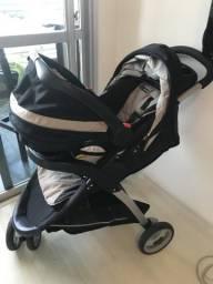 Carrinho de bebe GRACO - CLICK CONECT - 3 em 1 COMPLETO comprar usado  Rio de Janeiro