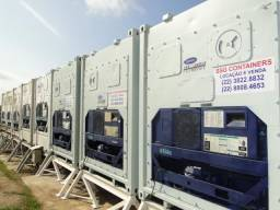 Locação de Container Frigorífico Refrigerado Câmara Fria usado aço inox