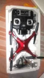 Drone com botão de retorno