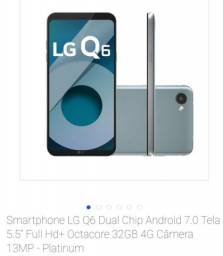 Celular LG Q6 na garantia até 10/19!