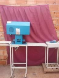 Máquina campacta print para fabricação de chinelo