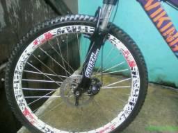 Vendo ou troco bike motorizada