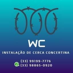 Instalação de Cerca Concertina