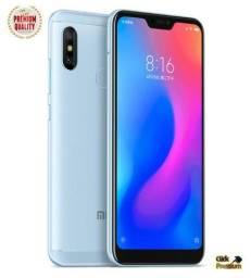 Xiaomi Mi A2 Lite Global - 64 GB Rom - 4 GB Ram + Capinha+ 4 Brindes - Tela Notch Iphone X