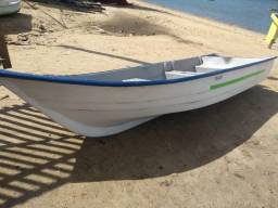 Barco de fibra com motor 15HP Kawashima - 2018