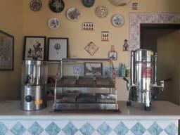 Kit lanchonete (cafeteira, chocolateira, estufa)
