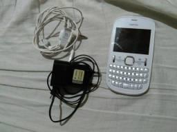 Vendo Celular Nokia Asha 201 Usado (Restrito apenas para Rede Vivo)