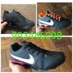 Líquida tênis Nike shox e new balance