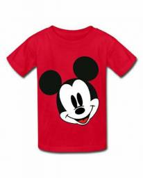 Camisetas estanpadas mickey Disney infantil