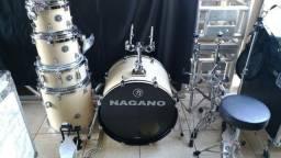 Bateria Nagano Garage Natural Gloss Series Fusion Set faço troca. respondo Chat