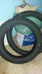 Vendo ou troco dois pneus