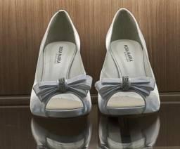 Sapato de Noiva Rosa Maria c36cf520e7759
