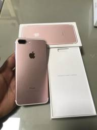 IPhone 7 PLUS 32GB Rose / Única Dona / Parcelo no Cartão