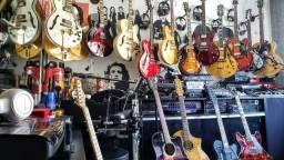 Guitarras em estado de zero - avalio trocas