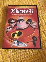 Dvd duplo Os Incríveis