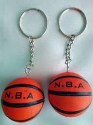 2 Chaveiros Bola de Basquete Basket oferta valor de 2 juntos otimo para presente