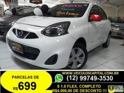 NISSAN MARCH 1.0  S 12V FLEX 4P MANUAL 2015 - 2015