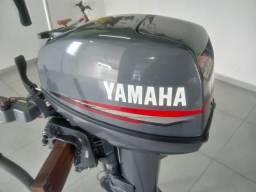 Motor de popa 15hp Yamaha ano 2003 conservado. *
