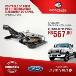Controle do freio de estacionamento e abertura do capuz original ford